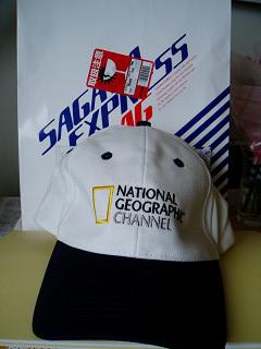 2007年3月18日ナショジオオリジナルキャップ