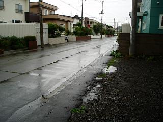 2007年8月8日外の様子
