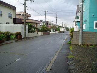 2008年10月1日外の様子