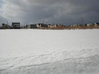 2009年3月15日外の様子