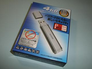 2009年3月15日USBメモリ4GB