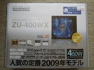 2009年4月25日ZU-400WX