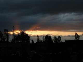 2009年5月14日夕日