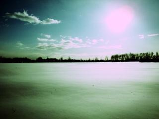 2010年1月22日外の様子