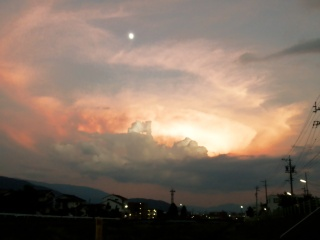 2010年7月21日外の様子