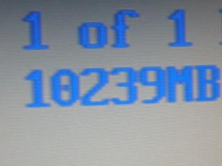 2011年7月3日BIOSで10GB
