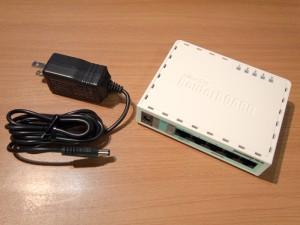 2014年12月25日 RouterBOARD開封
