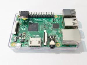 2015年11月30日 ミニRTCモジュールを取り付けたRaspberry Pi
