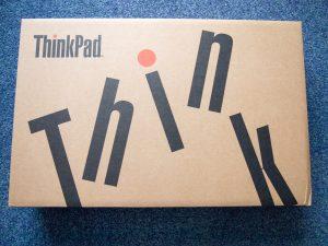 2017年7月29日 ThinkPad 13の箱