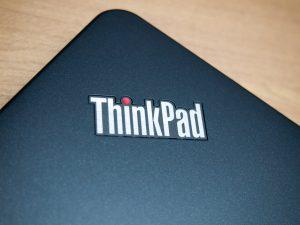 2017年7月29日 ThinkPad 13本体のThinkPadロゴ
