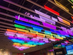 台北101の展望台入り口