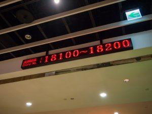 台北101の展望台入場可能番号