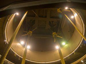 台北101のマスダンパーを吊っている部分