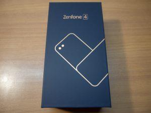 ASUS ZenFone 4の箱