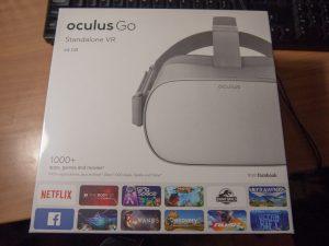 Oculus Goの箱