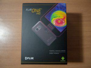 FLIR ONE Proの外箱