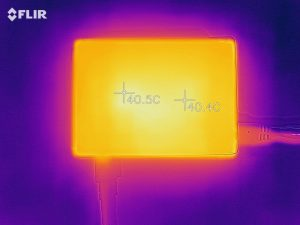 Raspberry Pi 3 Model B+のケースに入れた状態でのアイドル時温度