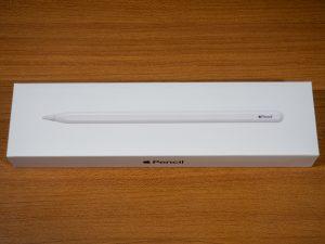 Apple Pencilの箱