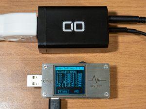 CIO LilNob 65W GaN ACアダプタの複数ポート使用時のPDO