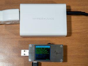 HyperJuice 100W GaN ACアダプタのUSB-Cの充電規格対応状況