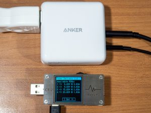 Anker PowerPort Atom PD 2の複数ポート使用時のPDO