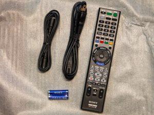 BDZ-ZT1700の付属品