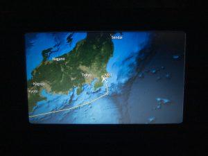 成田空港間近の地図