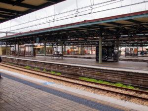 Central駅のホーム