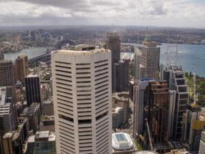 Sydney Tower Eyeからの北向きの眺め